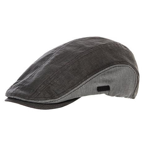RJR.John Rocha - Designer grey two tone flat cap