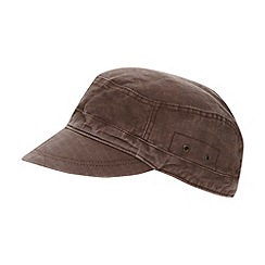 Mantaray - Brown buckle detail cap