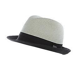 J by Jasper Conran - Designer grey two tone hat