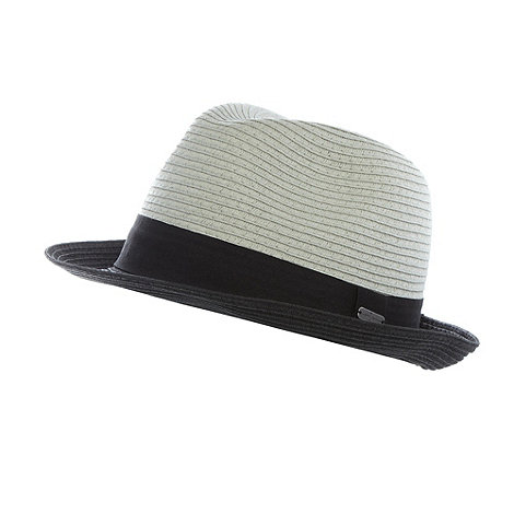 J by Jasper Conran - Designer grey two tone hat