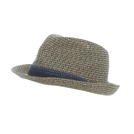 J by Jasper Conran - Designer navy two tone hat
