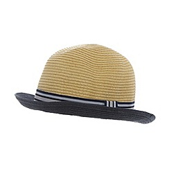 J by Jasper Conran - Designer natural contrast brim hat