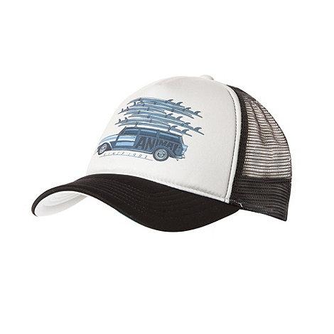 Animal - Taupe mesh trucker baseball cap
