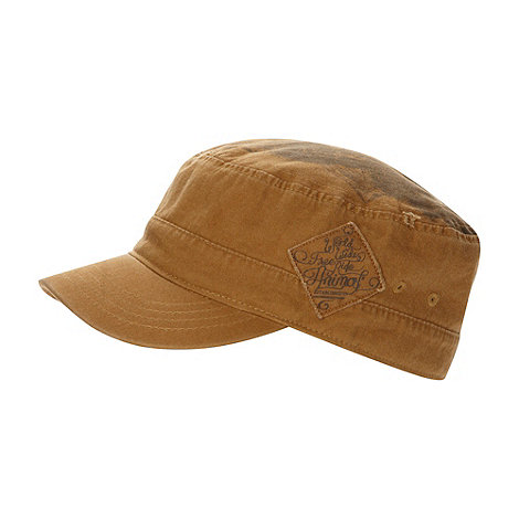 Animal - Taupe train driver cap