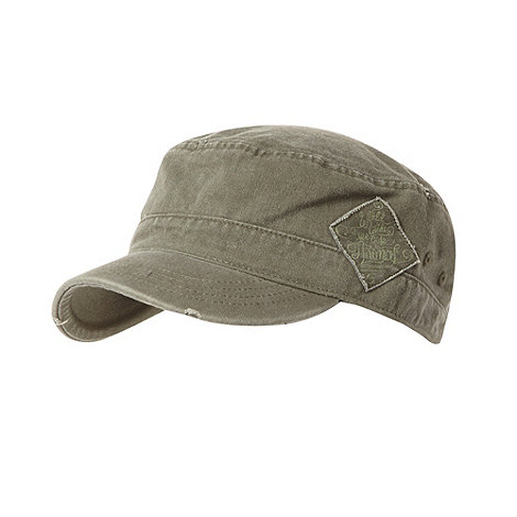 Animal - Khaki train driver cap