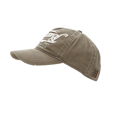 Animal - Taupe adjustable baseball cap