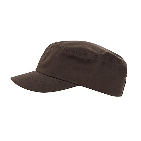 O+Neill - Brown adjustable train driver cap