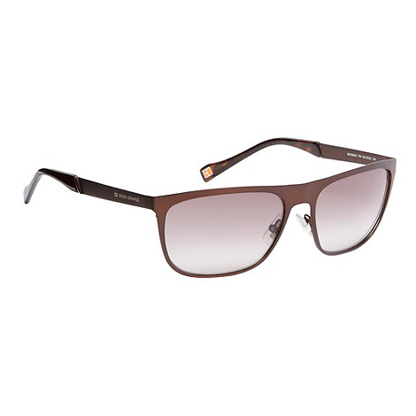 Boss Orange - Bronze metal frame sunglasses