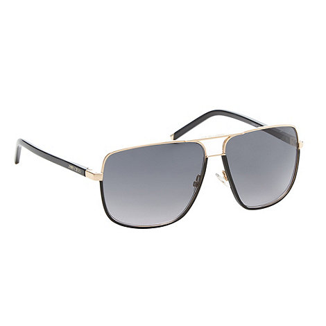Jimmy Choo - Grey trim aviator sunglasses