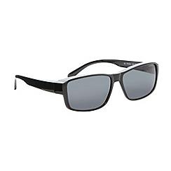 Polaroid - Grey square polarised sunglasses