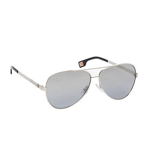 Boss Orange - Silver aviator style sunglasses