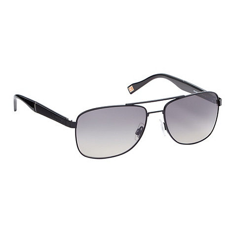 Boss Orange - Grey double brow sunglasses