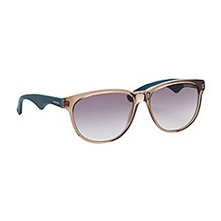 Carrera - Brown transparent plastic sunglasses