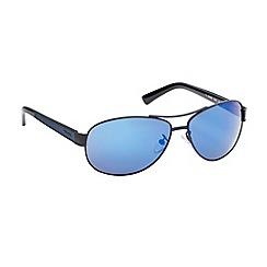Police - Blue sheer aviator sunglasses