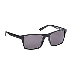 Police - Black matte square frame sunglasses