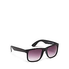Police - Black matte rectangular sunglasses