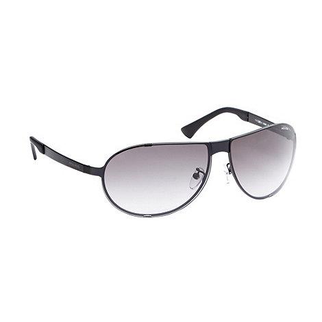 Police - Grey rimless aviator sunglasses