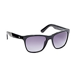 Police - Grey metallic aviator sunglasses