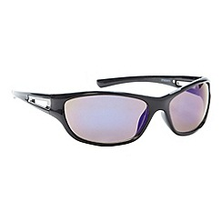 Mantaray - Blue tinted lens plastic sports sunglasses