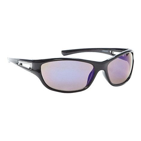 Mantaray - Blue tinted lens plastic sports sunglasses