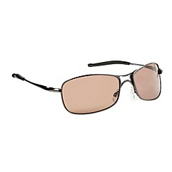 Mantaray - Gold lensed metal navigator sunglasses