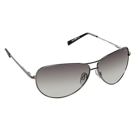 Bloc - Green polarised metal frame sunglasses
