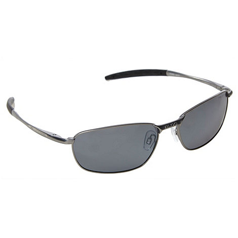 Bloc - Grey polarised metal sunglasses