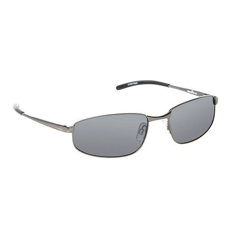 Bloc - Grey polarised metal frame sunglasses