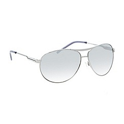 Red Herring - Silver mirrored lens metal aviator sunglasses