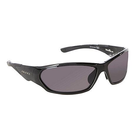 Bloc - Grey tinted plastic wrap sunglasses