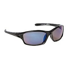 Bloc - Blue tinted plastic wrap sunglasses