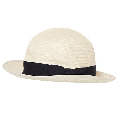 Hammond & Co. by Patrick Grant - Designer natural straw roll up panama hat