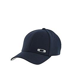 Oakley - Navy silicone logo baseball cap