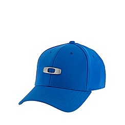 Oakley - Blue metal logo baseball cap