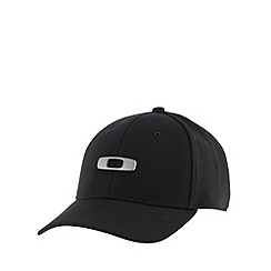 Oakley - Black metal logo baseball cap
