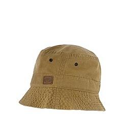 Animal - Taupe twill bucket hat