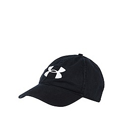 Under Armour - Black washed adjustable baseball cap