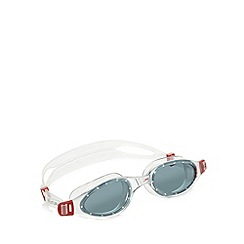 Speedo - Red 'Futura Plus' swimming goggles