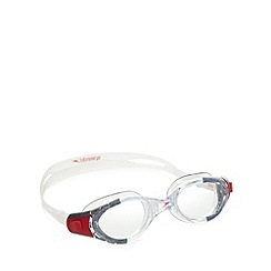 Speedo - Red 'Futura Biofuse' swimming goggles