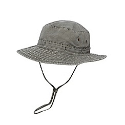 Mantaray - Grey canvas hat