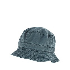 Maine New England - Navy washed bucket hat