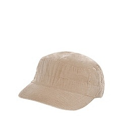 Mantaray - Natural tab trim train driver hat