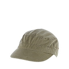 Mantaray - Khaki tab trim train driver hat