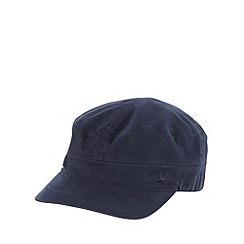 Mantaray - Navy canvas train driver cap