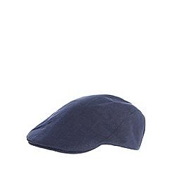 RJR.John Rocha - Designer navy flat cap