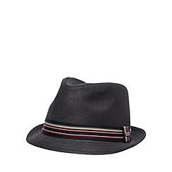 J by Jasper Conran - Designer black trilby hat