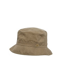 Mantaray - Khaki reversible tropical bucket hat