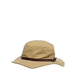 Osborne - Natural canvas belted hat