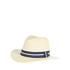 Osborne - Natural band panama hat