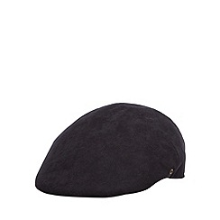 Osborne - Navy moulded flat cap